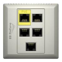Точка доступа HP MSM460 Dual Radio 802.11n AP (WW) (J9591A) с 2 радиоинтерфейсами стандарта n
