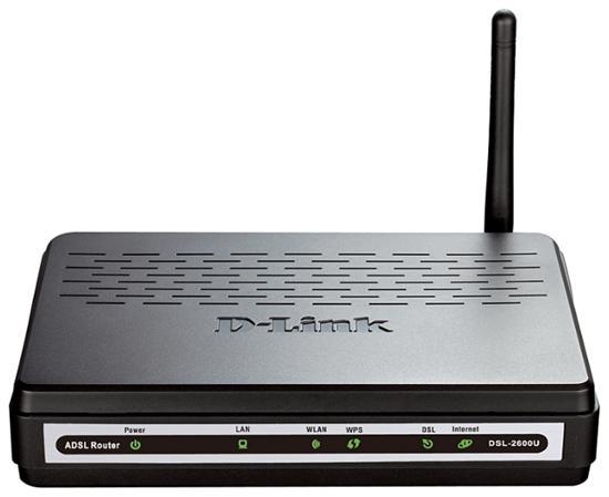 D-link DSL-2600U/NRU